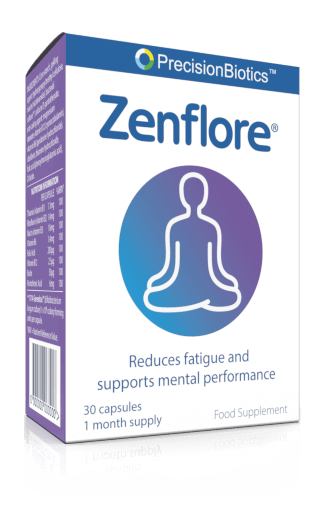 PrecisionBiotics Zenflore reduces fatigue and supports mental performance