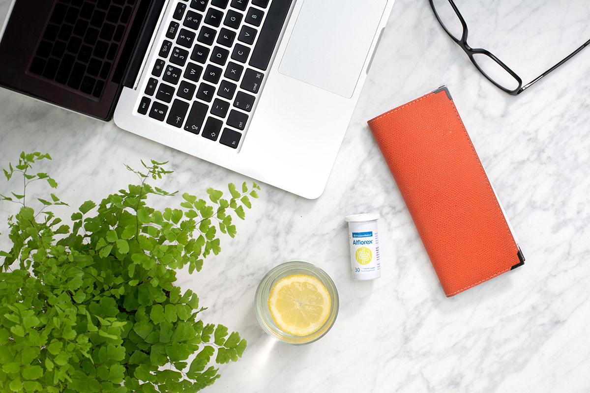 How to manage gut health at work