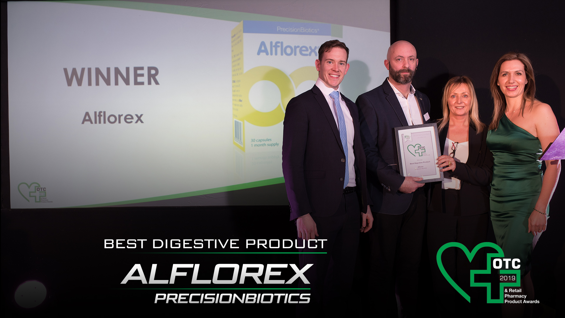 Alflorex, Voted Best Digestive Product 2019