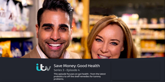 Zenflore was featured on ITV Save Money:Good Health